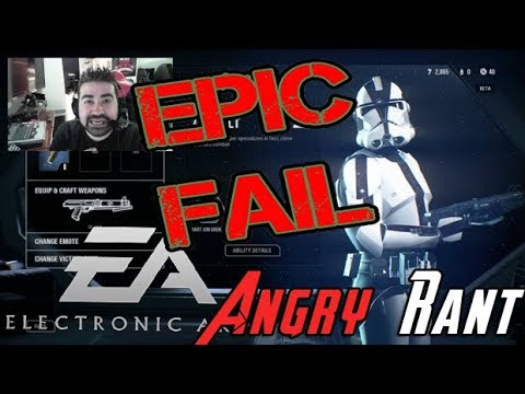 Angry Rant – WTF?! at the Loot Crates in Battlefront 2!