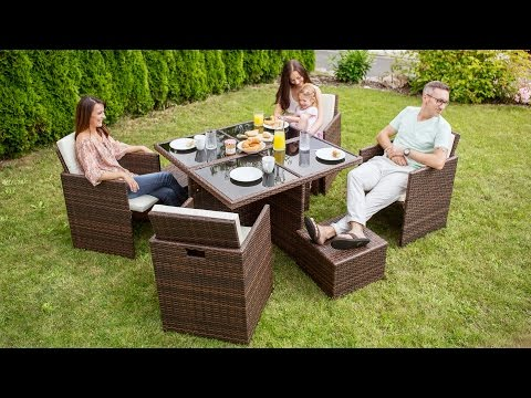 Rattanset Manhattan | Tectake