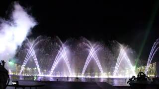 Калинка-малинка.Поющие фонтаны на Кипре