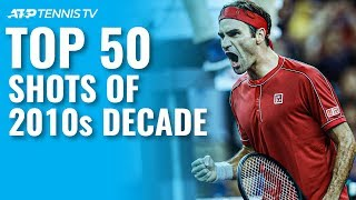 TOP 50 ATP SHOTS & RALLIES OF 2010s DECADE!
