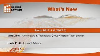 What s New in Revit 2017.1 &  2017.2?
