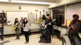 """FLHS Rock Ensemble plays """"Drive in, Drive Out"""" by Dave Matthews Band"""