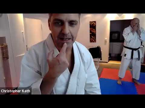 Karate Online Training Oberstufe - 02.12.2020 - Trainer Christopher Kath 5. Dan