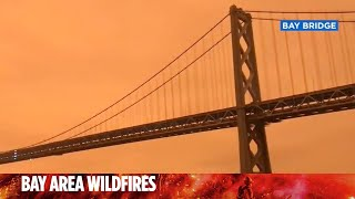 Dramatic orange, hazy skies seen all across San Francisco Bay Area