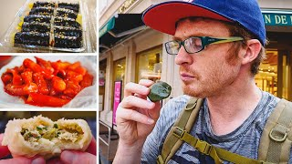 Seoul Street Food at Namdaemun Market | Korean Street Food in Seoul, Korea