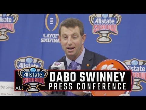 Dabo Swinney on his fond memories of Alabama's 1992 Sugar Bowl victory