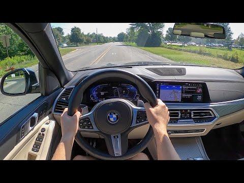 2021 BMW X5 xDrive45e - POV Test Drive (Binaural Audio)