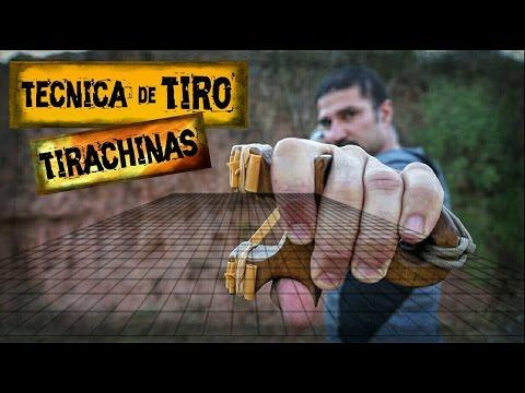 Aprende a Disparar con TIRACHINAS o RESORTERA | Técnica de Tiro con TIRACHINAS | SLINGSHOOT