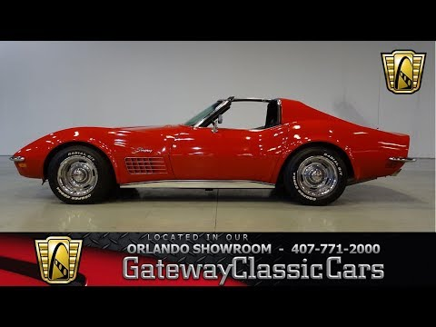 1972 Chevrolet Corvette for Sale - CC-1039169