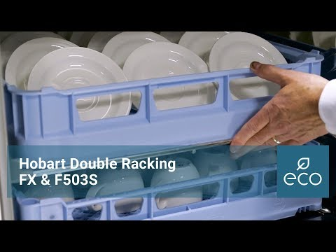 Hobart Double Racking: FX & F503S