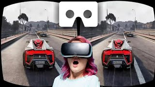 VR Videos 3D VR Project Cars VR Gameplay 3D SBS  for VR BOX 3D not 360 VR