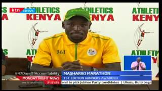 Monday Night News: 1st Edition winners of Africa Mashariki half marathon get feted today