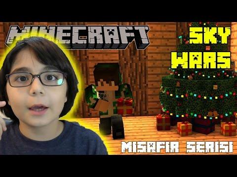 Minecraft Skywars Misafirlerim Heyecanlıyım - BKT