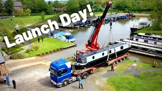 Launch Day For Silver Fox - Our New Canal Narrowboat!