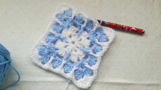 Granny Square With A Twist Easy Crochet Tutorial