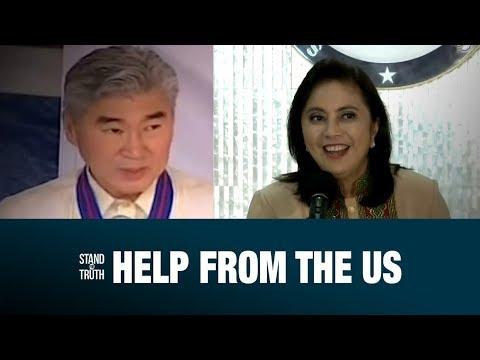 [GMA]  Stand for Truth: US Ambassador Sung Kim, suportado si VP Leni sa laban kontra droga!