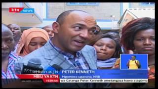 Mbiu ya KTN: Peter Kenneth atangaza rasmi kugombea ugavana Nairobi