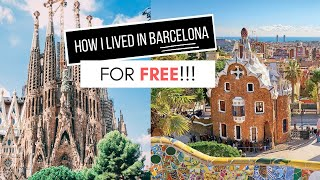 WORKING IN A HOSTEL + LIVING IN BARCELONA FOR FREE!