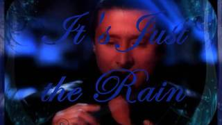 Steve Perry...It's Just the Rain...Lyric overlay