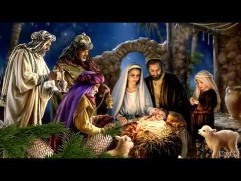Красивое поздравление с Рождеством Христовым! Музыкальная открытка