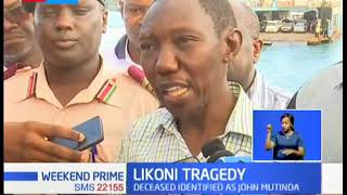 Likoni Tragedy: Motorist allegedly sped off the ramp, plunged into the ocean