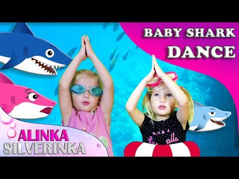 Toddler Shark Dance | Kids Sing and Dance! | Animal Songs | ALINKA SILVERINKA Songs for Children