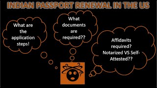 Indian Passport Renewal in the US | VFS | Step by Step Guide | Tutorial |(SplitOfName+BirthPlace)