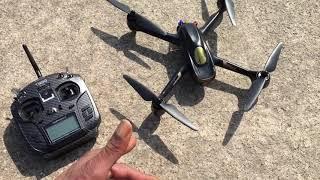 Hubsan H501S Drone + Jumper T8SG V3 Plus