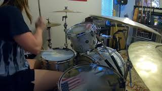 """Brittany Harrell - Armor For Sleep """"The Truth About Heaven"""" Drum Cover"""