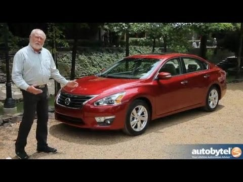 2013 Nissan Altima: Video Road Test & Review
