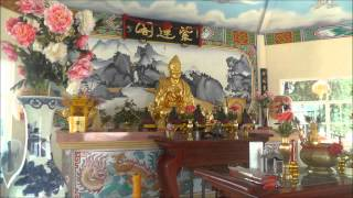 preview picture of video 'Chinese temple, Lam Duan, Nong Khai, Thailand'