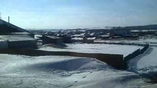 A small village. Russia, the Kuzbass.
