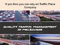 Reduce your Work Risk with Best Traffic Control Plan in Melbourne Traffic Plans Comp...