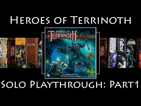 Heroes of Terrinoth: Rules Overview & Solo Playthrough | The Goblin Problem | Part 1