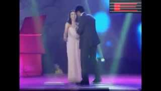 Richard Gomez And Dawn Zulueta Duet At Kapamilya Thank You Trade Show