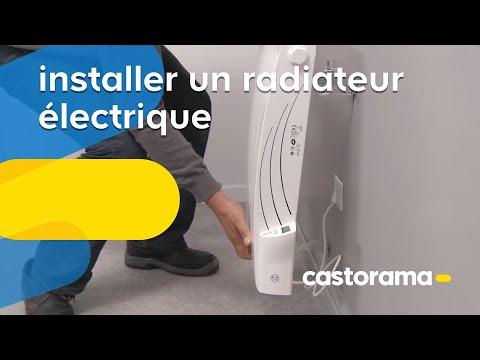 Castorama vous explique comment installer un radiateur électrique