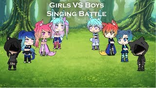 Boys vs Girls Singing battle/ GLMV