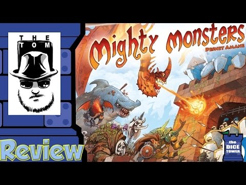 Mighty Monsters Review - with Tom Vasel