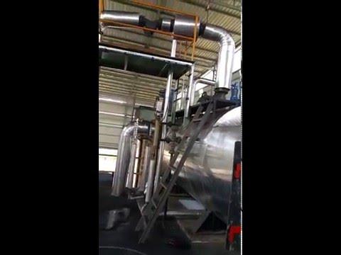 Soild Fuel Fired 2-10 TPH Water Wall Membrane Panel FBC Boiler