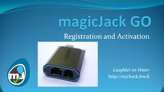 magicJack GO - Activation and Registration