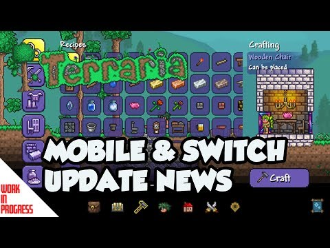 Terraria 1 3 Nintendo Switch and Mobile New Image! Release