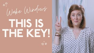 Wake Windows EXPLAINED! The KEY to a Successful Nap Schedule! (Nap Week Day 2)