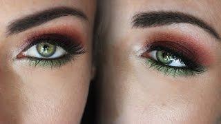 How To: Make Green Eyes POP - Makeup Tutorial For Green Eyes | MakeupAndArtFreak
