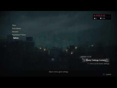 Resident Evil 2 - Neronko hardcore stream SK/CZ