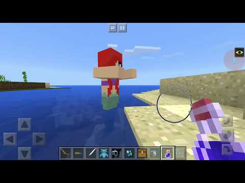 Minecraft PE Android Gameplay #2 Mysterious SEA  Mod