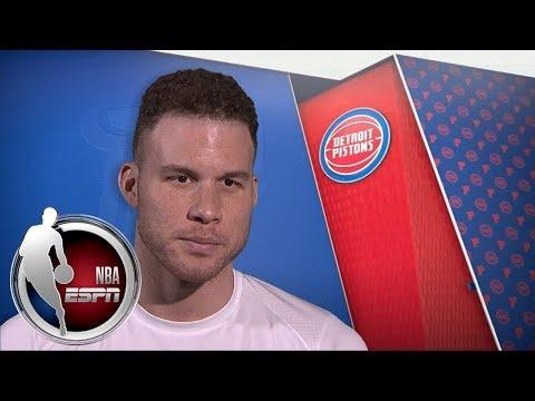 Blake Griffin: Detroit Pistons a 'first-class organization' | ESPN