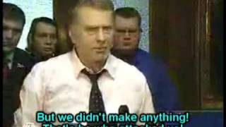 Zhirinovsky fights in Duma