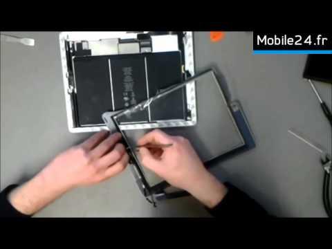 comment reparer la vitre d'un ipad