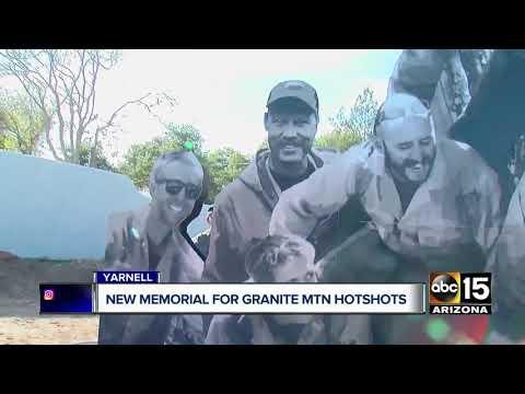 New memorial for Granite Mountain Hotshots