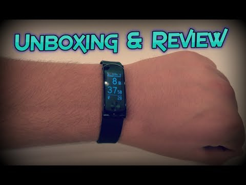 Q-Band HR+ Fitness Tracker Unboxing & Review